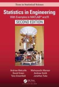 STATISTICS IN ENGINEERING: WITH EXAMPLES IN MATLAB AND R (HC)