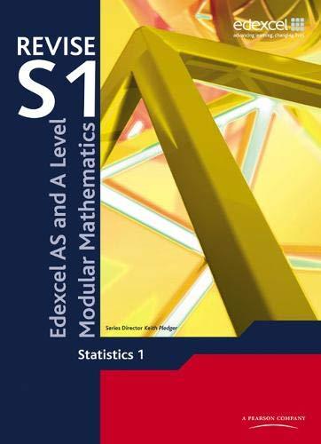 REVISE EDEXCEL AS AND A LEVEL MODULAR MATHEMATICS STATISTICS 1