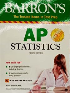 AP STATISTICS: BARRON'S THE TRUSTED NAME IN TEST PREP (WITH ONLINE TESTS)