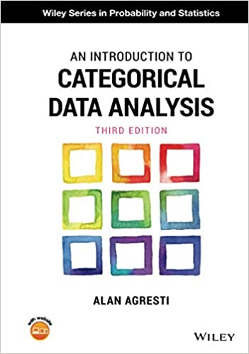 AN INTRODUCTION TO CATEGORICAL DATA ANALYSIS (HC)