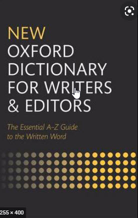 NEW OXFORD DICTIONARY FOR WRITERS AND EDITORS (HC)