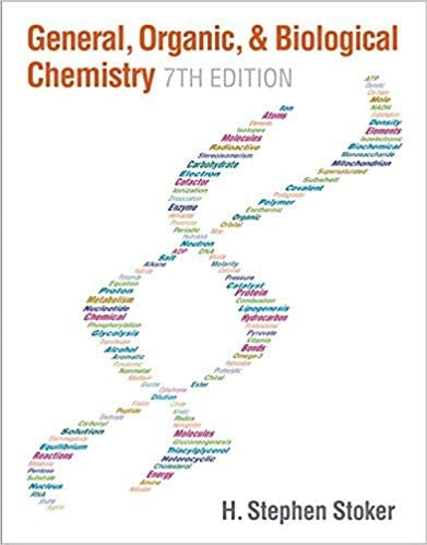 GENERAL, ORGANIC, AND BIOLOGICAL CHEMISTRY (HC)