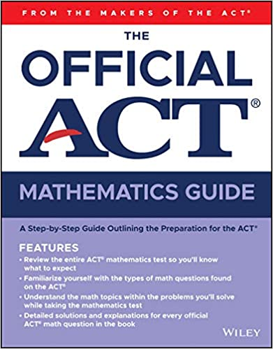 THE OFFICIAL ACT GUIDE MATHEMATICS
